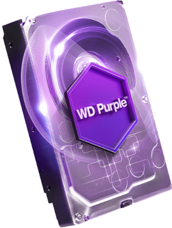 Picture for category WD Purple Surveillance Hard Drive